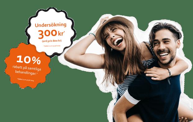 Undersökning 200kr & 10% på samtliga behandlingar
